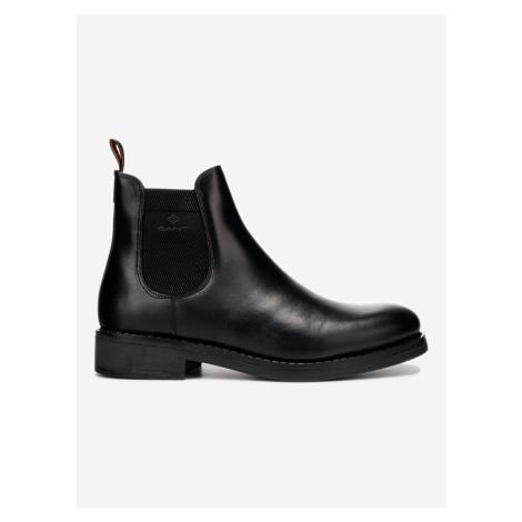 Brookly Kotníková obuv Gant Čierna