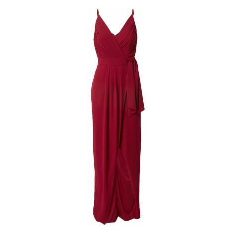 TFNC Večerné šaty 'HAZE'  tmavočervená