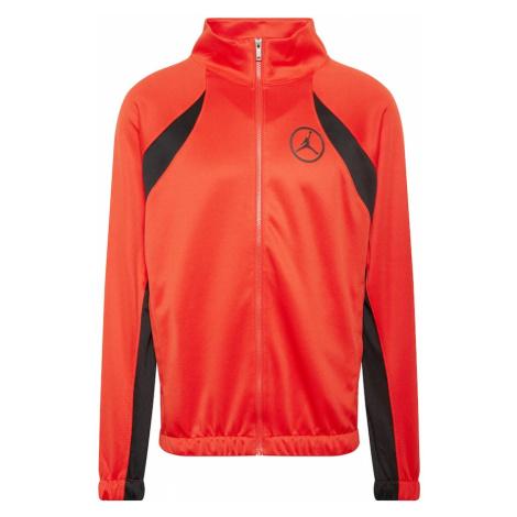 Jordan Prechodná bunda  červená / čierna / antracitová