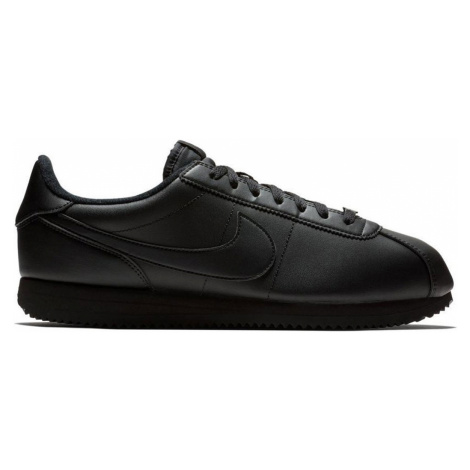 Nike Cortez Basic Leather-11 čierne 819719-001-11