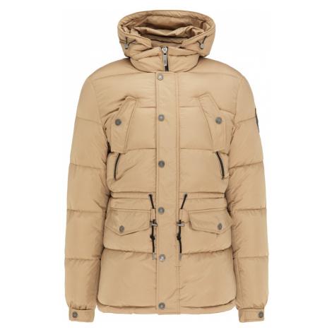 MO Zimná bunda  béžová