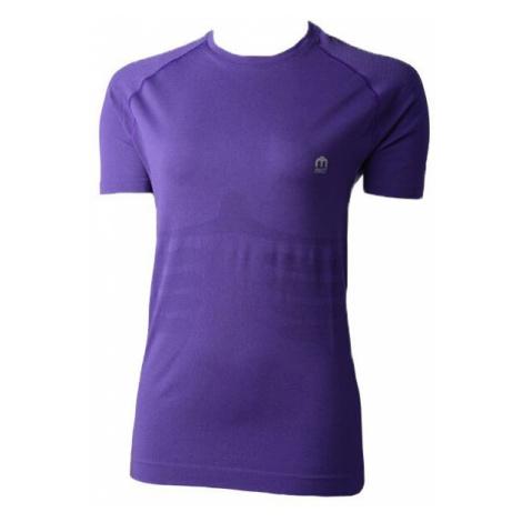 Mico W HALF SLVS R/NECK SHIRT SKIN fialová - Dámske bežecké tričko