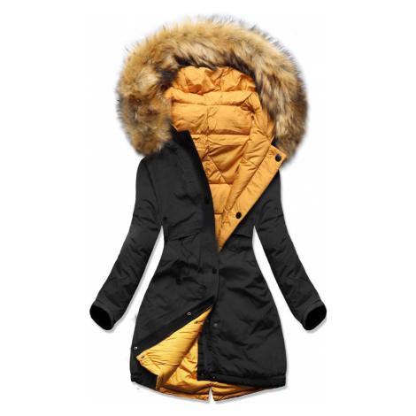 MODOVO Dámska bunda čierna