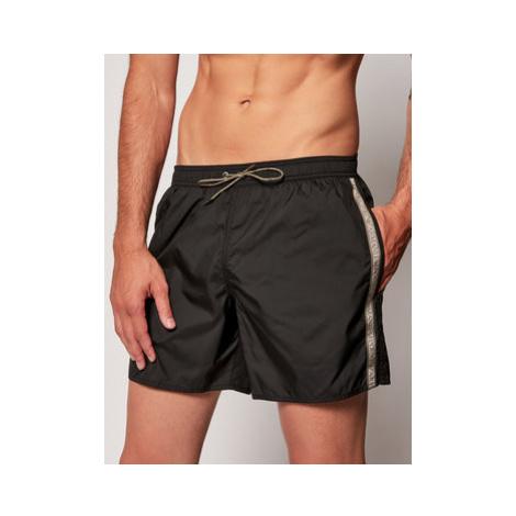 Emporio Armani Plavecké šortky 211740 0P420 00020 Čierna Regular Fit