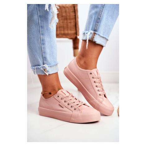 Women's Sneakers Big Star Pink GG274103