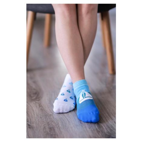 Barefoot ponožky krátke - Lode 43-46