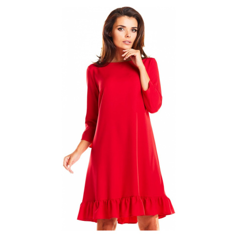 Červené šaty M185 Infinite You