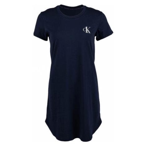 Calvin Klein S/S NIGHTSHIRT čierna - Dámska nočná košeľa
