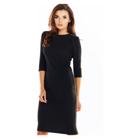 Čierne šaty A321 Awama
