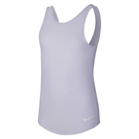 Dievčenské tielko Nike Studio Soft Tank fialové