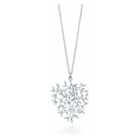 Tiffany & Co. Luxusný strieborný náhrdelník Paloma Picasso Olive Leaf + originálne balenie