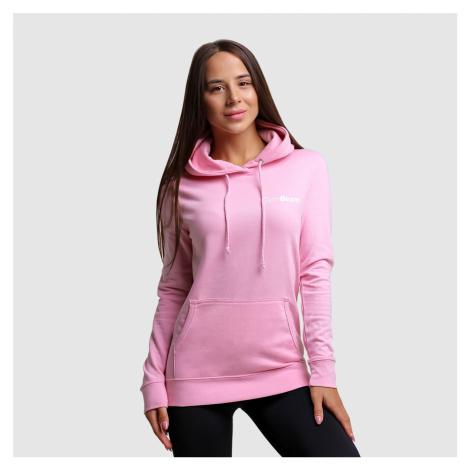 GymBeam Dámska mikina PRO Hoodie Baby pink  XL