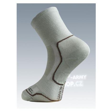 Ponožky so striebrom Batac Classic - light green
