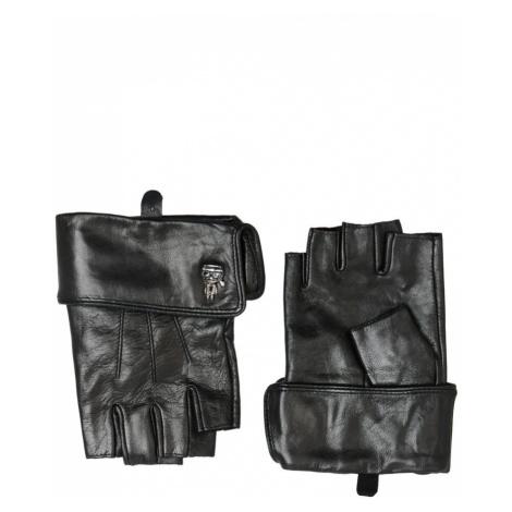 Rukavice Karl Lagerfeld K/Ikonik 3D Pin Cuff Glove