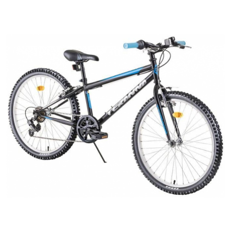"Juniorský bicykel DHS Teranna 2421 24"" - model 2019 Farba blue"