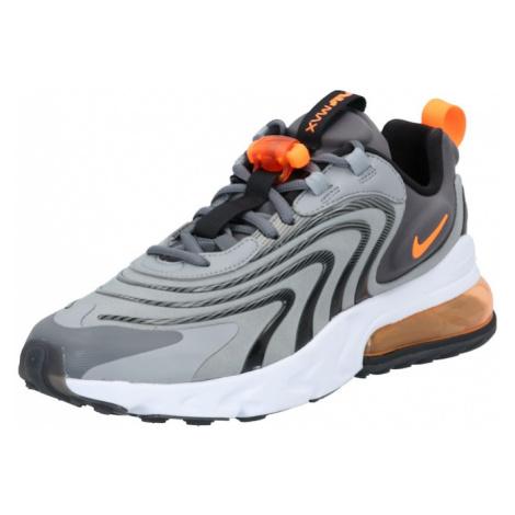 Nike Sportswear Nízke tenisky 'Air Max React'  oranžová / sivá / biela / svetlosivá