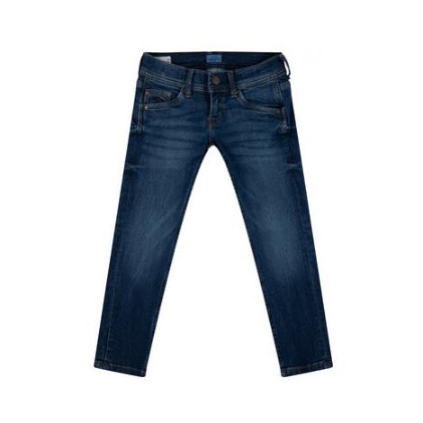 Pepe Jeans Džínsy PB200226 Tmavomodrá Slim Fit