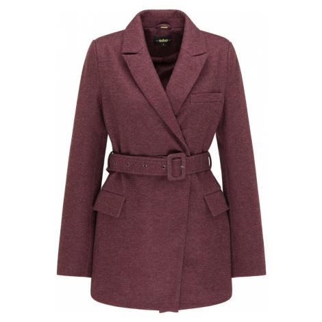 usha BLACK LABEL Prechodný kabát  purpurová