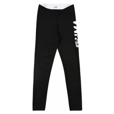 PUMA Športové nohavice 'Modern Sport'  svetlosivá / čierna / tmavošedá