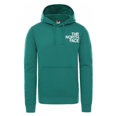 The North Face M Oversize Logo Hoodie-M zelené NF0A4SYOTA0-M