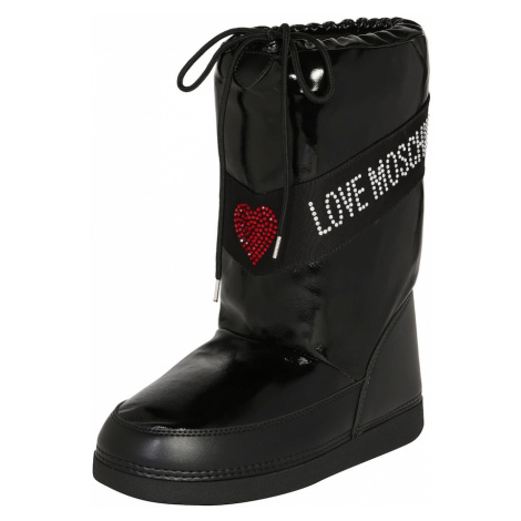 Love Moschino Snehule 'SKI BOOT'  čierna
