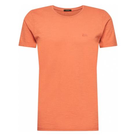 DENHAM Tričko  oranžovo červená