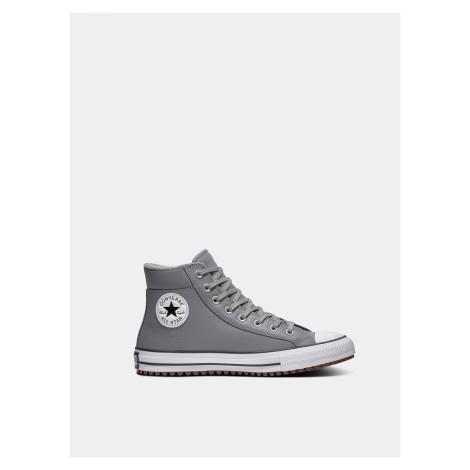 Converse sivé kožené tenisky Chuck Taylor All Star Boot PC