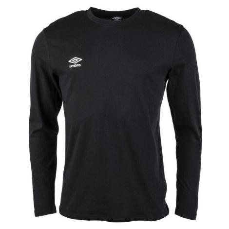 Umbro FW SMALL LOGO LS TEE - Pánske tričko