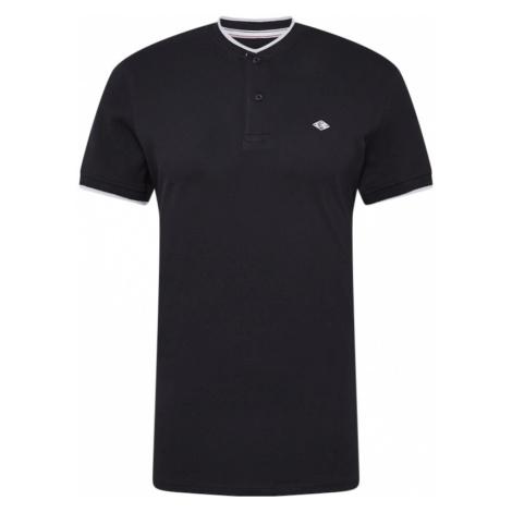 BLEND Tričko  čierna / biela