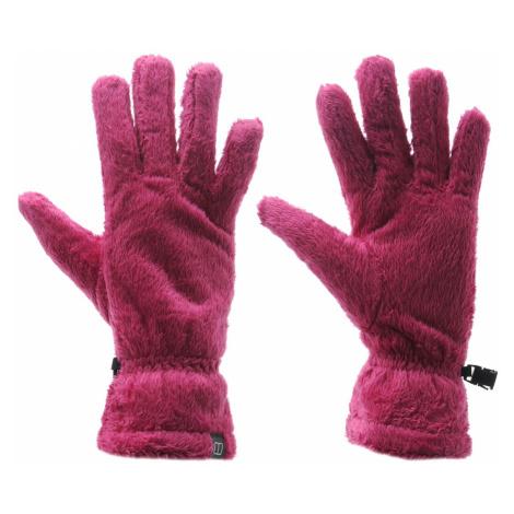 Berghaus High Loft Fleece Gloves Purple