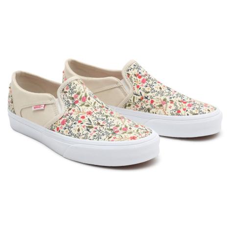Vans Shoes Wm Asher Flrl Dsfl White