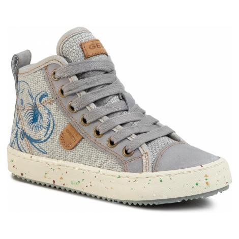 Outdoorová obuv GEOX - J Alonisso B. F J022CF 010CL C1006 M Grey