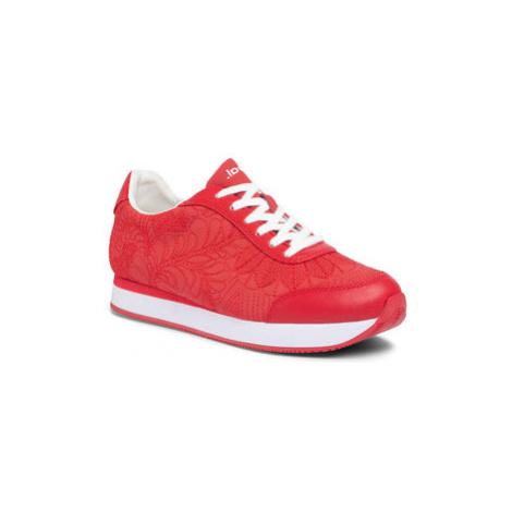 Desigual Sneakersy Galaxy Lottie 20SSKP34 Červená