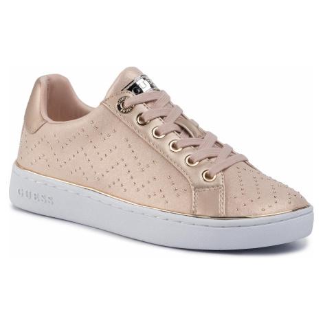 Sneakersy GUESS - Bikram FL5BIK ESU12  BEIGE
