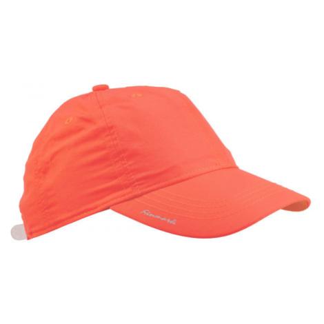 Finmark FNKC974 oranžová - Detská baseballová šiltovka