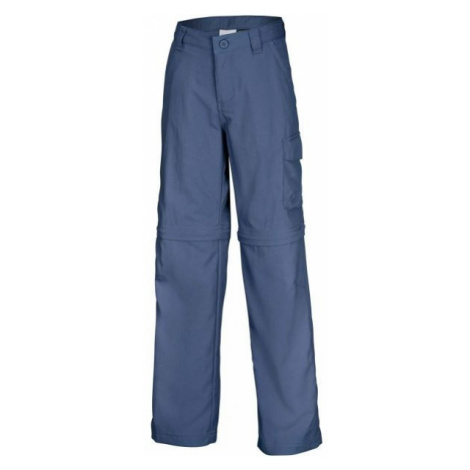 Columbia SILVER RIDGE III CONVERTIBLE PANT modrá - Dievčenské outdoorové nohavice