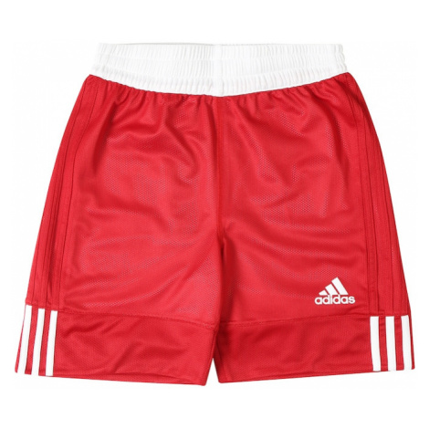 ADIDAS PERFORMANCE Športové nohavice '3G Speed Reversible'  biela / červená