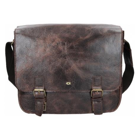 Pánska taška Daag JAZZY WANTED 10 - tmavo hnedá