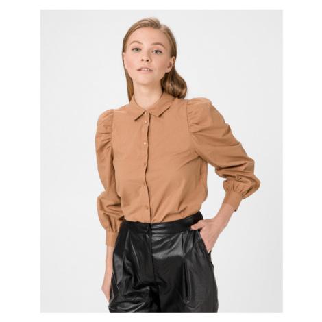 Vero Moda Miriam Košeľa Hnedá