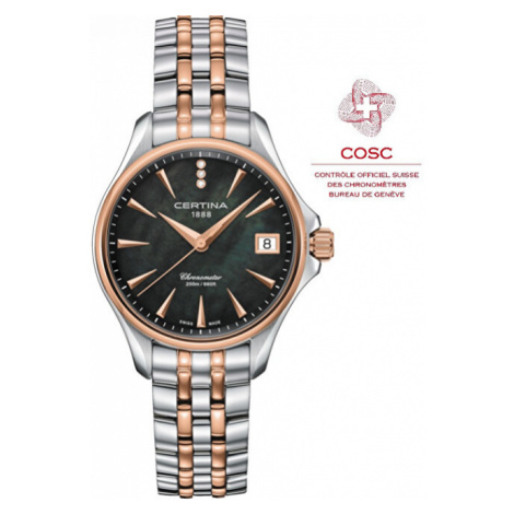 Certina DS ACTION LADY Diamonds Chronometer C032.051.22.126.00