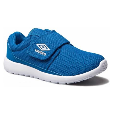 Umbro SHERRATT JNR modrá - Detská voľnočasová obuv