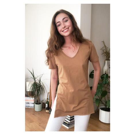 Dámske tričko Trendyol Asymmetric