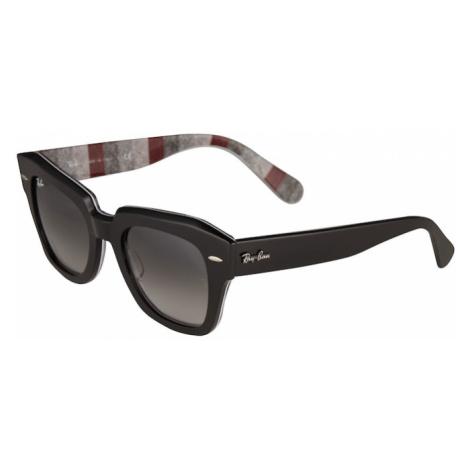 Ray-Ban Slnečné okuliare  burgundská / čierna