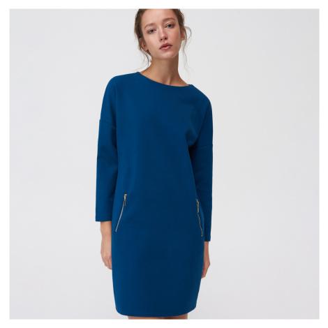 Mohito - Vzorované šaty Eco Aware - Tyrkysová