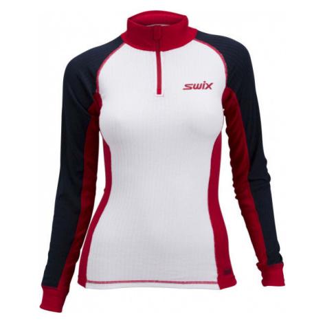 Swix RACE X biela - Dámske tričko s dlhým rukávom