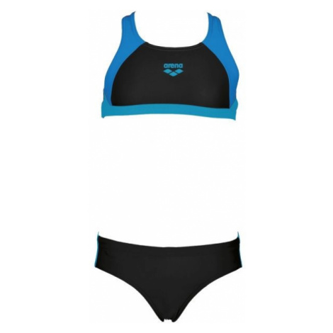 Arena G REN TWO PIECES čierna - Dievčenské dvojdielne plavky