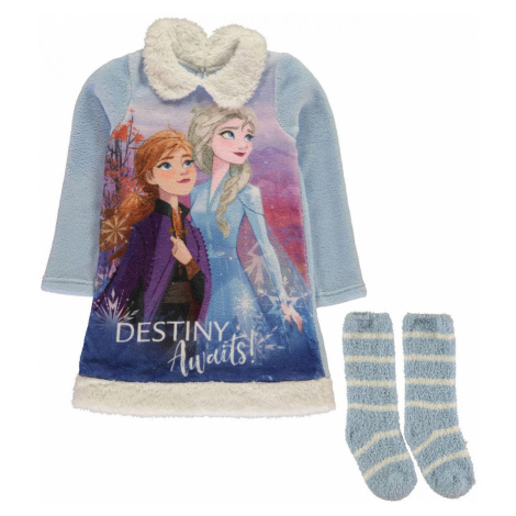 Character Nightie and Sock Set Infants Frozen