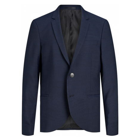 Jack & Jones Junior Prechodná bunda 'Solaris'  modrá melírovaná