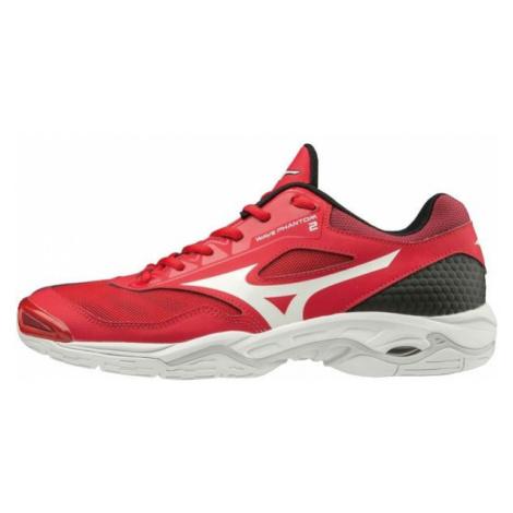 Mizuno WAVE PHANTOM 2 červená - Pánska halová obuv