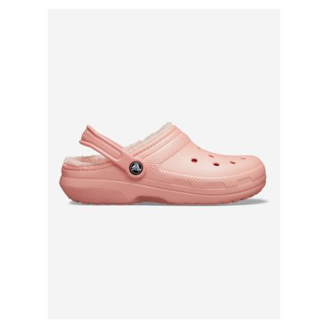 Classic Fuzz Lined Clog Crocs Crocs Růžová